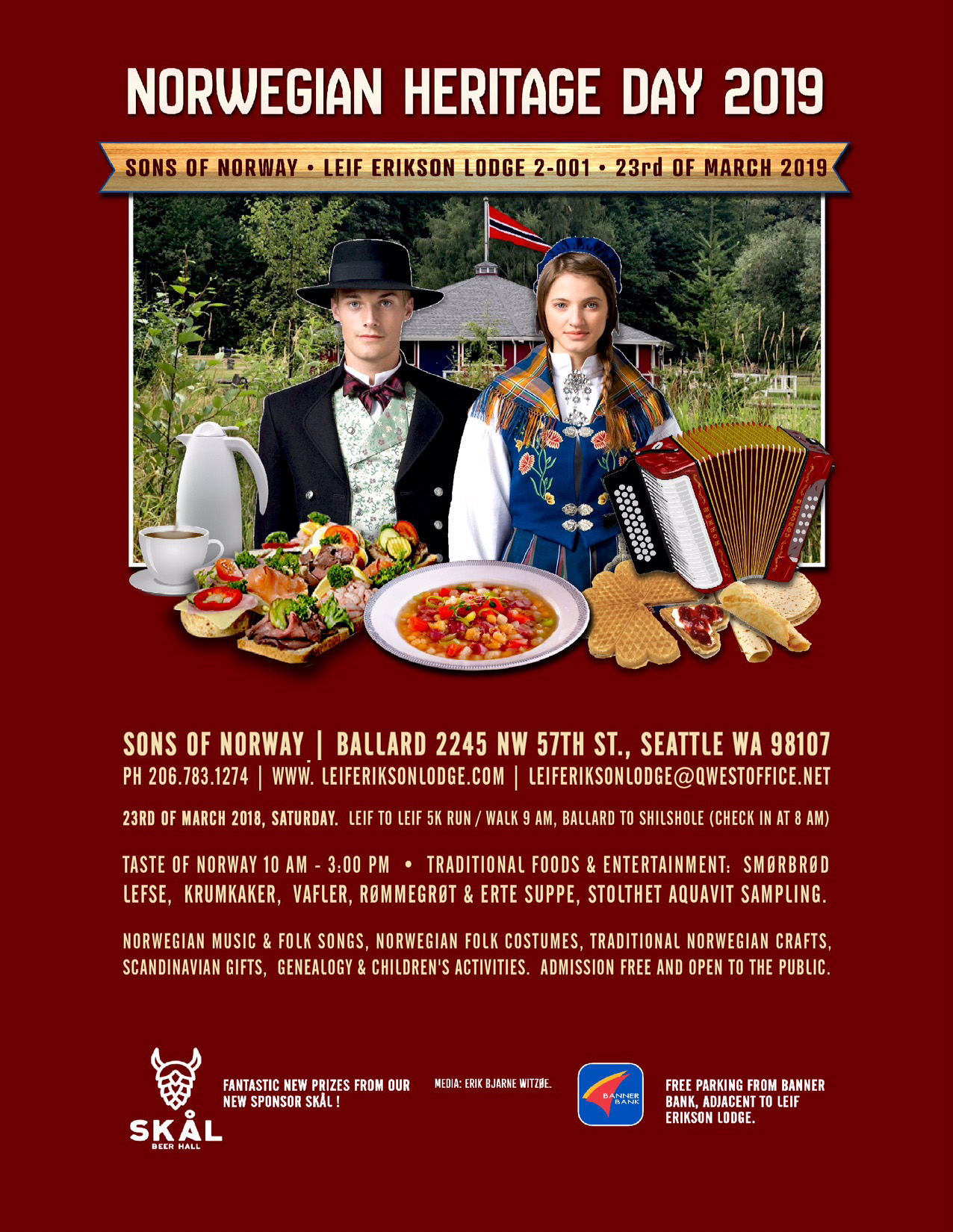 Norwegian Heritage DayThe Nordic Council of Greater Seattle